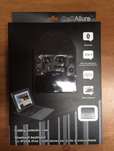 CellAllure Bluetooth Keyboard Folio iPad & Ipad 2 Folding Case CAKITD48-... - $28.85