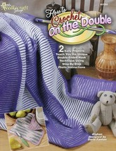 How to Crochet on the Double Pattern/Instructions Booklet 2 Easy Project... - $3.57