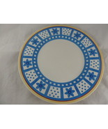 Villeroy & Boch Twist Anna Yellow Blue flowers red Germany Dinner Plate ... - $20.78