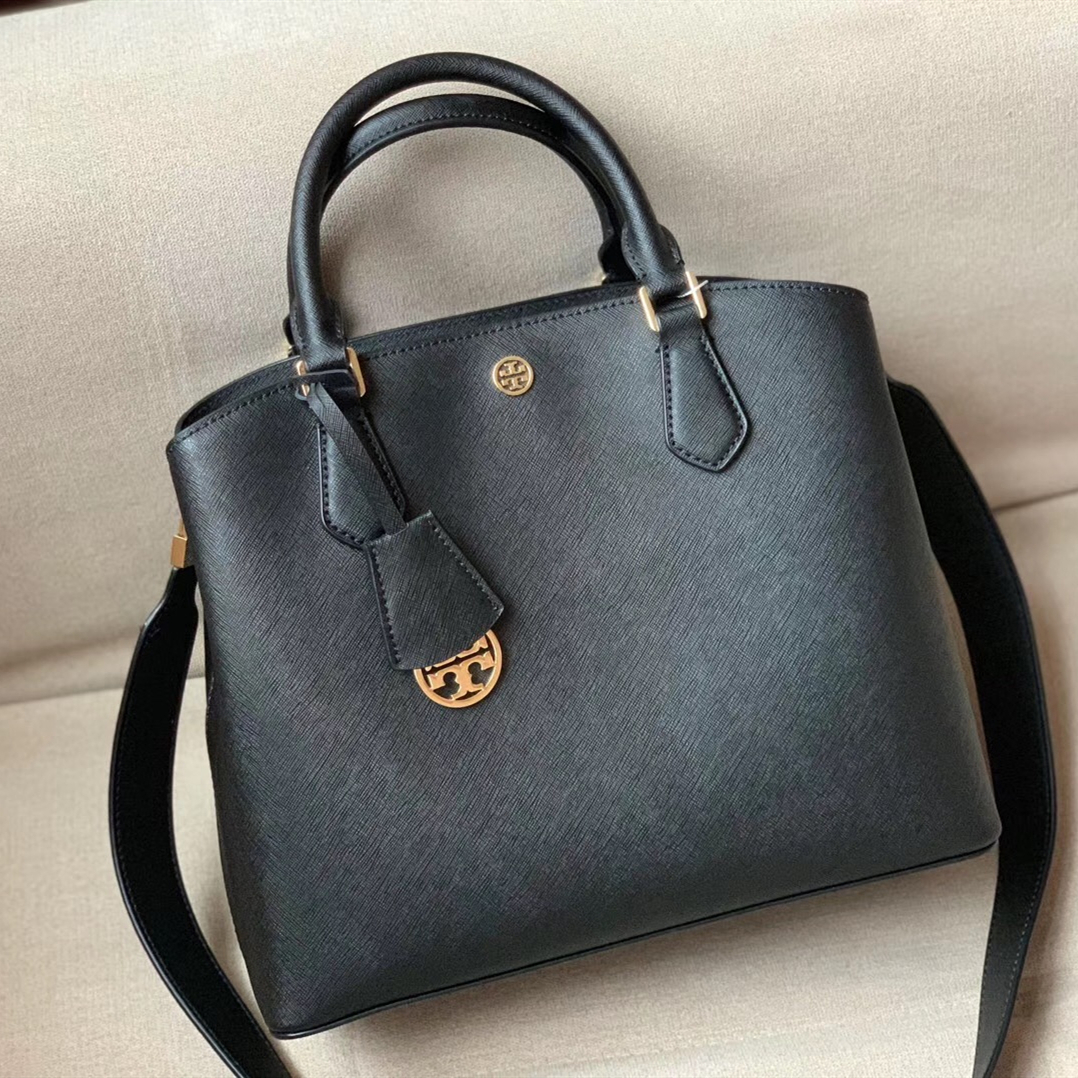 Primary image for Tory Burch Robinson Triple-Compartment Tote