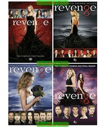 Revenge The Complete Series Seasons 1 2 3 & 4 DVD Collection New Set 1-4 - $47.00