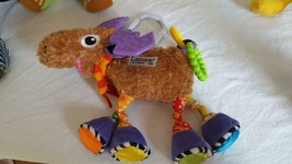 "8""LAMAZE MORTIMER MOOSE PLUSH INFANT STROLLER CRIB ACTIVITY TOY,DEVELOPM... - $7.91"