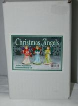 Dicksons Christmas Angel Blue Dress Holding Candle 6 Inches image 5