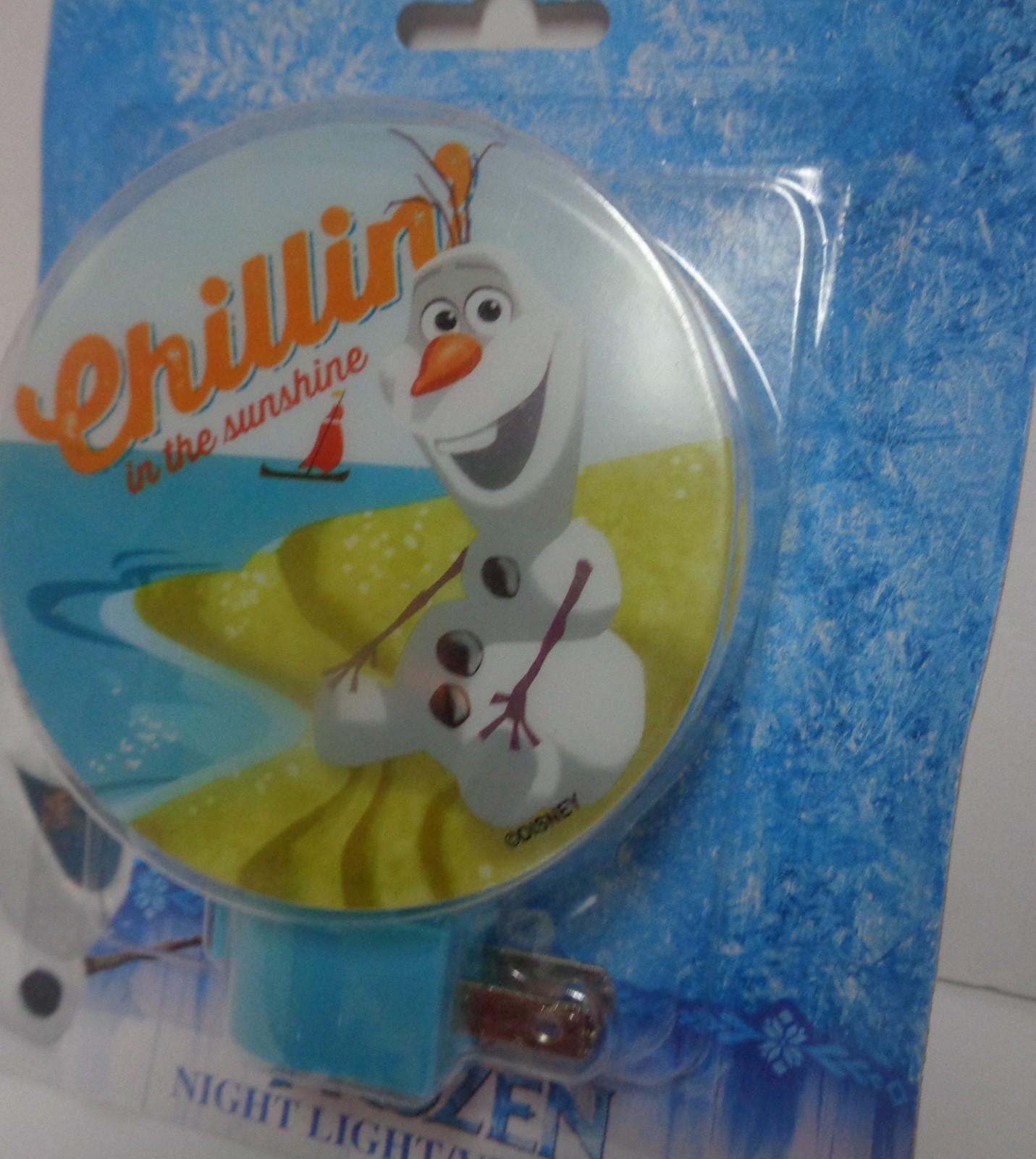 Frozen Olaf Night Light NIB Self Chillin In The Sunshine Free Shipping