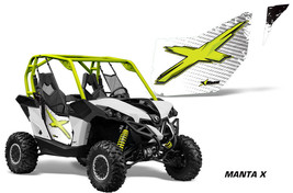 AMR Racing CanAm Commander/Mave UTV Door Graphics Wrap for OEM Doors 2 MANTA X - $197.95