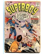 Superboy #68 comic book DC First appearance of Bizarro-Silver-Age 198 - $424.38