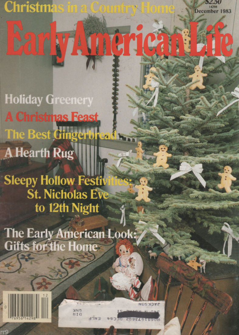 Primary image for Early American Life Magazine December 1983