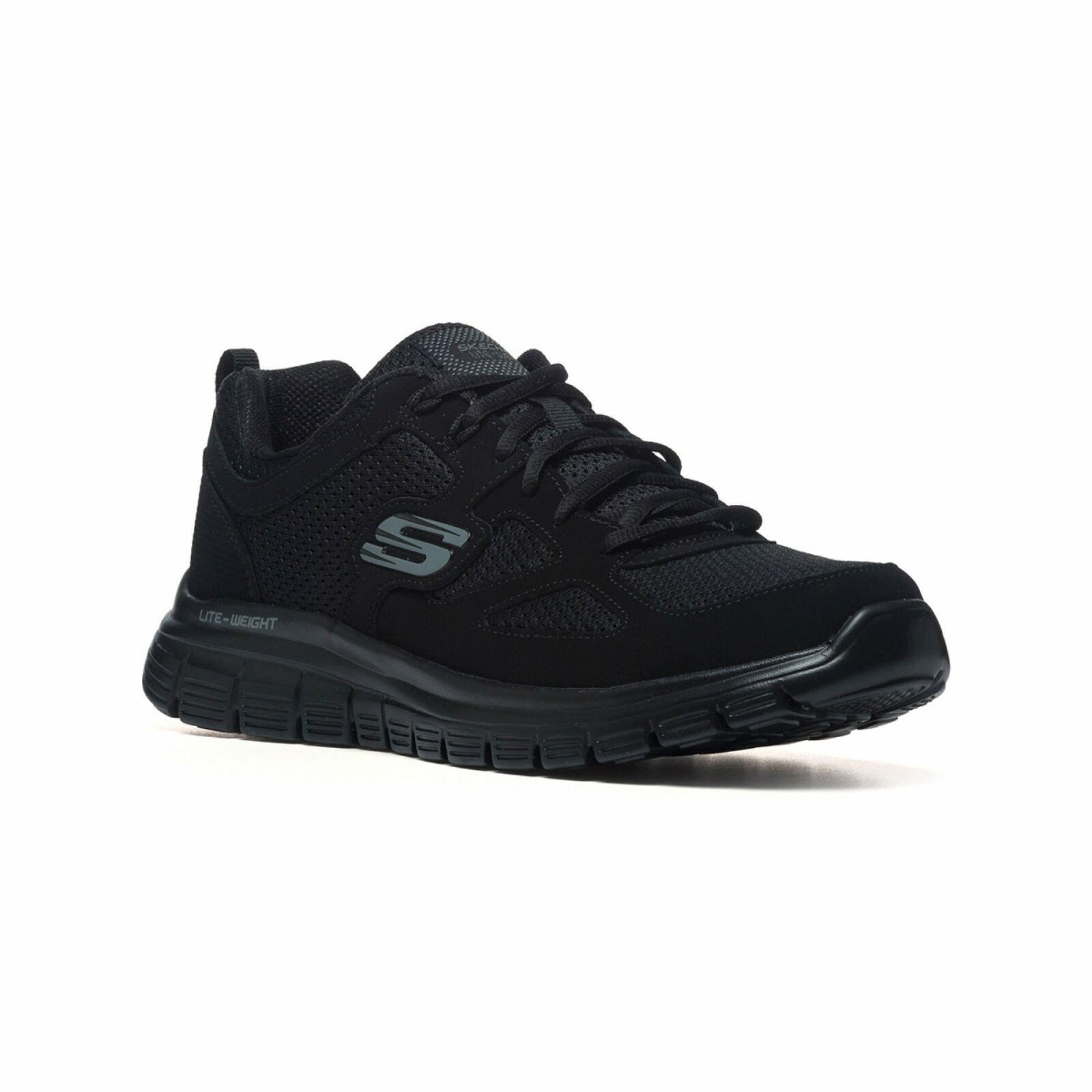 Skechers Burns Agoura trainers Memory Foam Blu o Nero Sneakers Uomo
