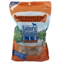 Natural Balance Sweet Potato Poisson Friandises pour Chiens No Artificie... - $19.47