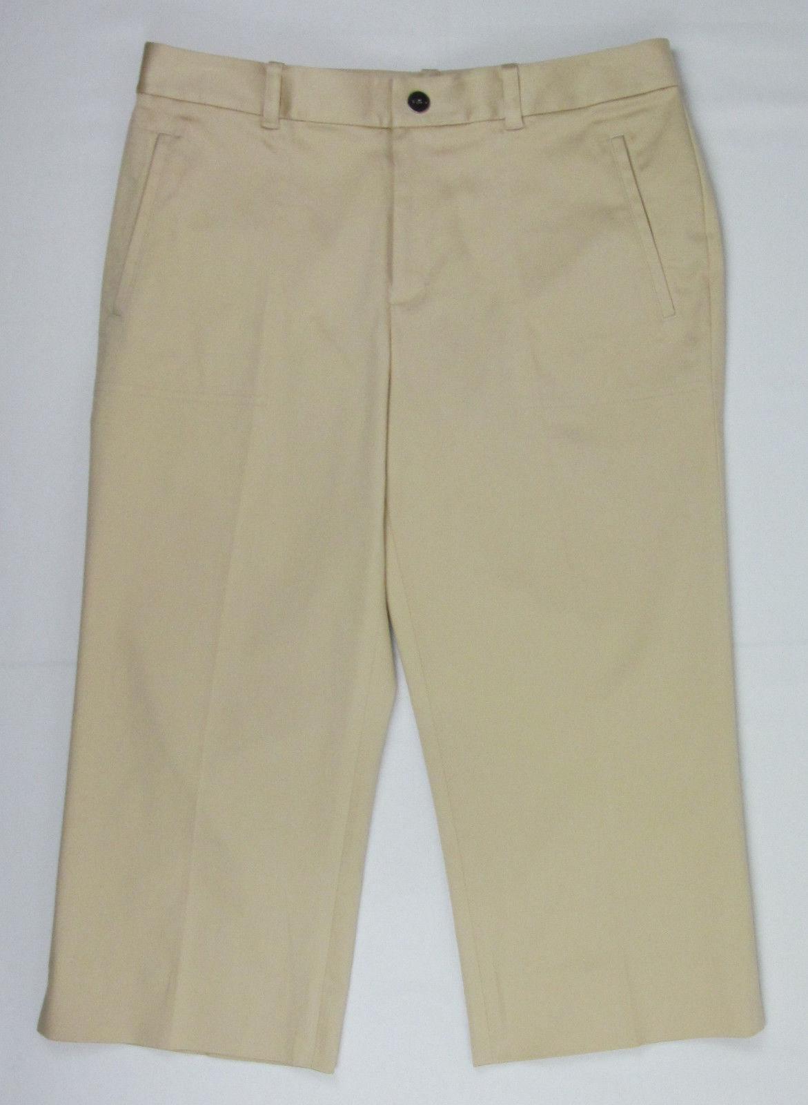 NWT Ralph Lauren Sport Capri pants Tan ( Straw Blonde ) Womens Size 12 - $29.65