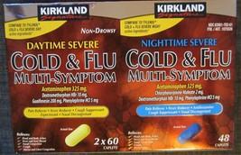 Kirkland COLD Multi-Symptom Daytime Non-Drowsy Nighttime Severe Pain Rel... - $14.73