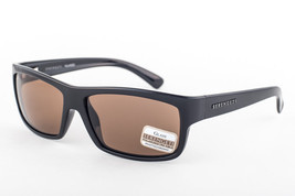 Serengeti Martino Shiny Black / Polarized Drivers Sunglasses 7489 60mm - $195.51