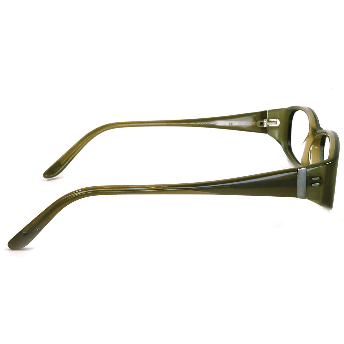 Authentic ECO Earth Conscious Optics 52-14-130 Olive Eyeglasses 1032