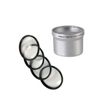 MACRO CLOSE UP Lens 4 Filter Kit + Tube Adapter... - $21.55