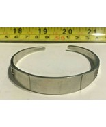 VINTAGE COSTUME JEWELRY REED AND BARTON STERLING SILVER BAND BRACELET - $149.95