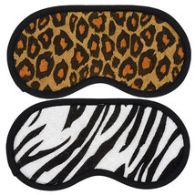 April Bath & Shower Animal-Print Sleep Mask~Zebra Print - $7.76 CAD