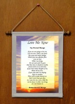 Love Me Now - Personalized Wall Hanging (187-1) - $19.99