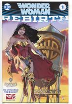 Wonder Woman 1 NM DC Rebirth Warner Bros Studio Tour WB Water Tower 75th Variant - $29.70