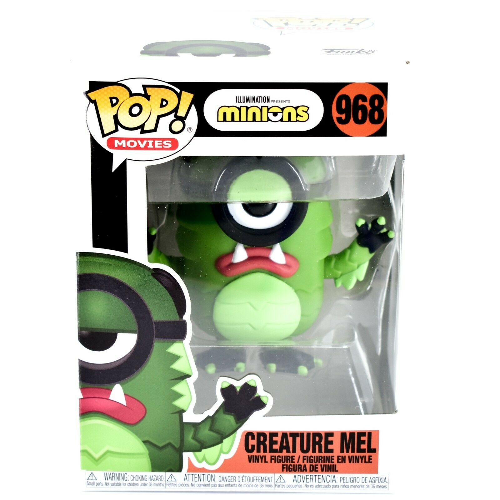 Funko Pop! Movies Minions Creature Mel #968 Halloween Costume Vinyl Figure