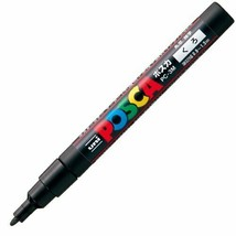 *Mitsubishi Pencil Posuka PC-3M.24 fine print black [3 set] - $9.04