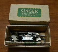 Vintage Singer Buttonholer Attachment Original Box model 121795 - $18.67