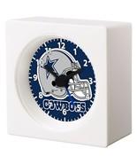 DALLAS COWBOYS NFL FOOTBALL TEAM LOGO ALARM CLOCK MAN CAVE BEDROOM GARAG... - $26.99