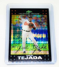 MLB MIGUEL TEJADA BALTIMORE ORIOLES 2007 TOPPS CHROME X-FRACTOR #180 MINT - $2.24