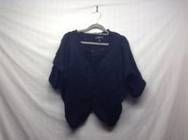 Jessica Simpson Black Knit V-Neck Sweater Sz S