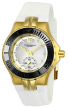 TechnoMarine Women's TM-115398 Cruise Ceramic Quartz 3 Hand White Dial W... - $130.51