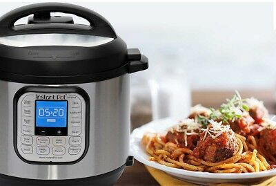 Instant Pot Nova Plus 6 Qt 9-in-1 Multi-Use Pressure Cooker | No Tax