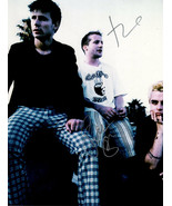 Green Day In-person AUTHENTIC Autographed 11x14 Photo COA SHA #27835 - $295.00