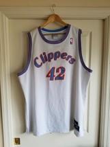 RARE VINTAGE Authentic Elton Brand LA/SAN DIEGO Clippers Jersey WHITE Sz... - €38,98 EUR