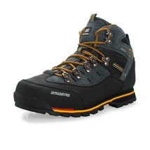 Men Outdoor Hiking Shoes Waterproof Leather Boots for Climbing & Fishing... - $73.14