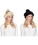 Womens UGG Up Flap Hat Water Resistant Sheepskin - Black & Chestnut [17381] - $99.99