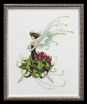 "NC128 ""HOLLY ""- Pixie Couture Collection CHART, EMBELLISHMENT & Kreinik - $24.74"