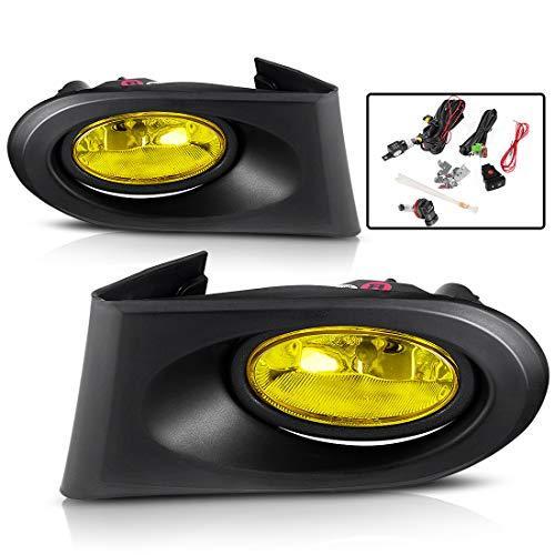 AUTOSAVER88 Fog Lights For Acura RSX 2002 2003 2004 Fog