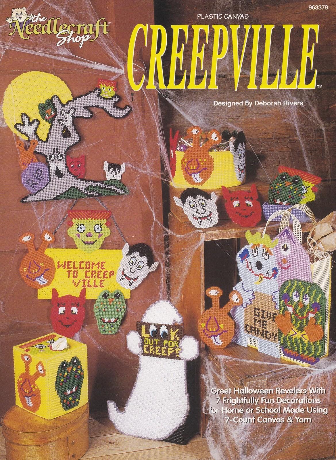 the needlecraft shop cross stitch pattern (1990s): 1 listing