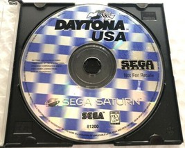 ☆ Daytona USA (Sega Saturn 1996) AUTHENTIC Game Disk Only Tested Working ☆ - $6.50