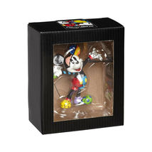 "3.25"" Disney Britto Mickey Mouse Mini 3 Dimensional Figurine Stone Resin image 3"