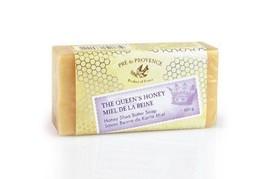 Pre De Provence French Queens Honey Bar Soap 150g Gram 5.2 Ounce Shea Bu... - $8.95