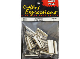 """Crafting Expressions Value Pack 1"""" Pin Back #5867/3"""