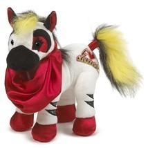 Webkinz Rockerz I Love Dance Zebra Ganz 9 in 2014 sealed code - $10.95