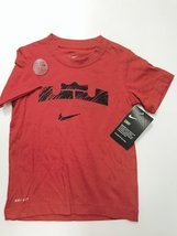 NIKE BOYS LEBRON JAMES TSHIRTS 4-7 YEARS (6 YEARS, BURGUNDY) - $19.59