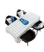 Panda Superstore Premium Tablecloth, Washes Easily, Fit Table Cover For ... - $45.63