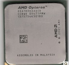 AMD Dual-Core Opteron 180 Socket 939 CPU - OSA180DAA6CD 4800 - $67.00