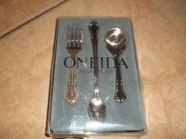oneida silverware vintage 3 piece for baby nib - $26.00