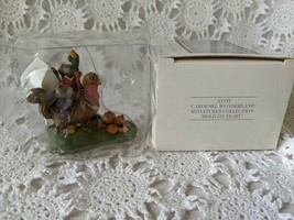 Avon Fine Collectibles Carousel Wonderland Miniatures Collection Hold On... - $14.54