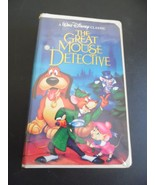 Disney The Great Mouse Detective  VHS Movie/1992 Black Diamond Classic V... - $24.75