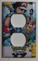 Pokemon XY Light Switch Duplex Outlet & more Wall Cover Plate Home decor image 2