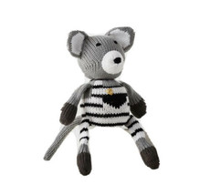Pottery Barn Modern Baby Mischief The Mouse Finn + Emma Plush Knit Toy R... - $21.77